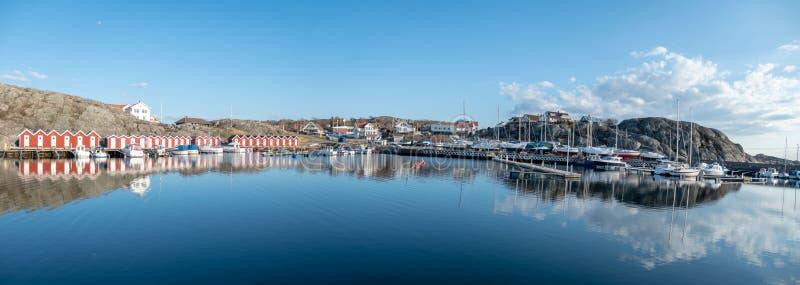 Puerto de la huésped de la isla de Styrso fotografía de archivo libre de regalías