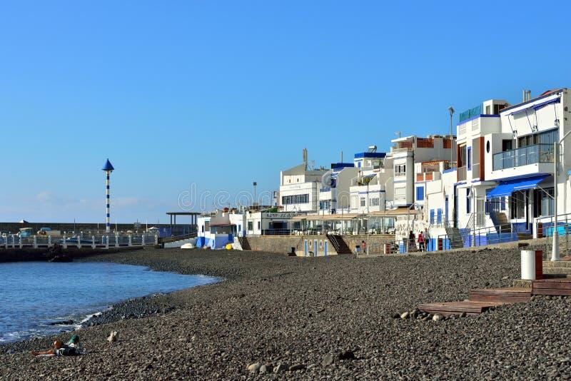Puerto de las Nieves royaltyfri bild