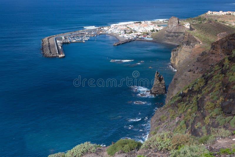 Puerto de las Nieves fotografering för bildbyråer