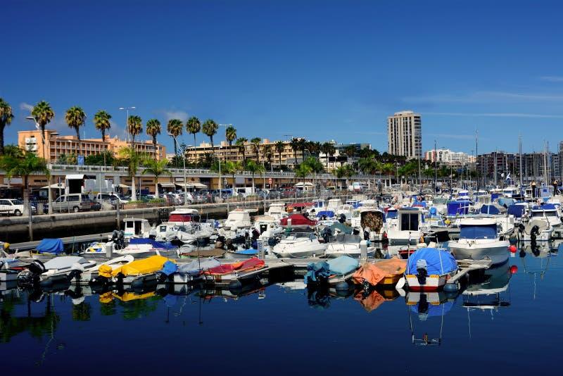 Puerto de Las Palmas fotografía de archivo libre de regalías