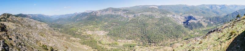 Puerto de las palomas viewpoint in Sierra de Cazorla, Jaen, Spain stock photos