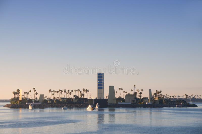 Puerto de Long Beach fotos de archivo