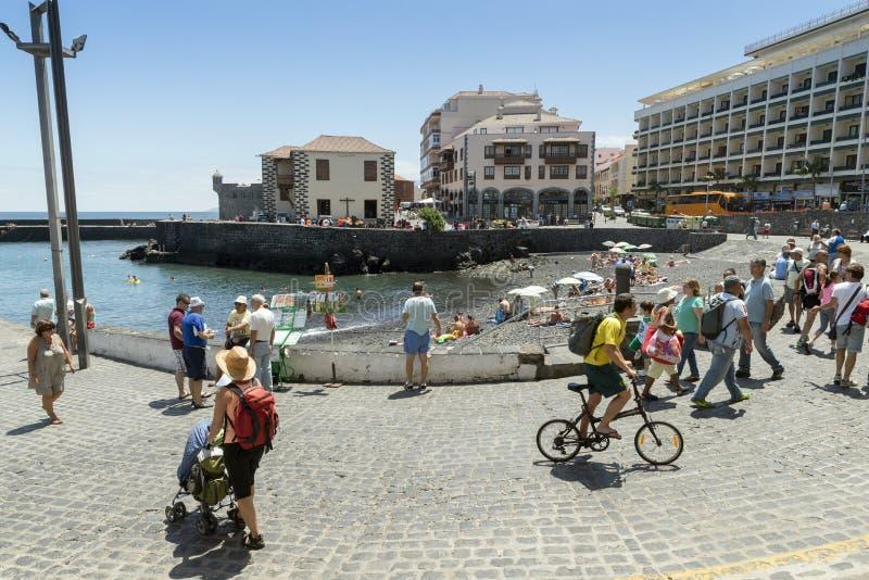 Puerto De Los Angeles Cruz zdjęcia royalty free