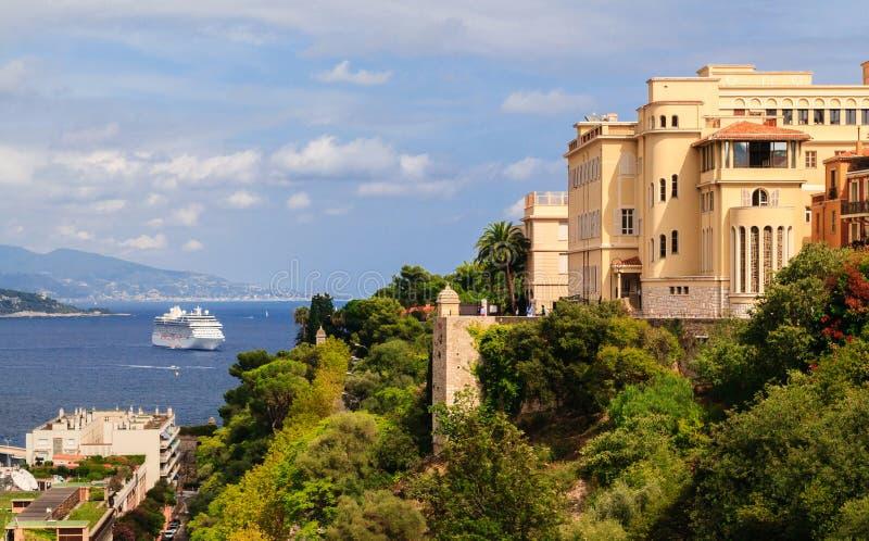 Puerto de Mónaco, riviera francesa fotos de archivo