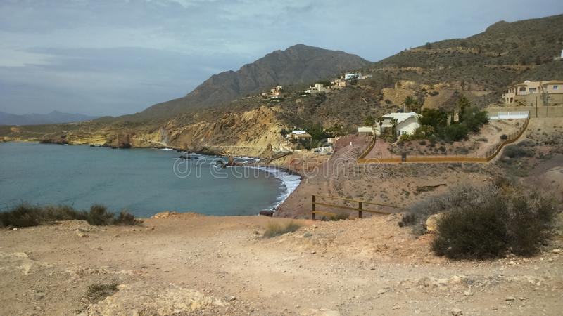 Puerto De mazzaron royalty free stock image