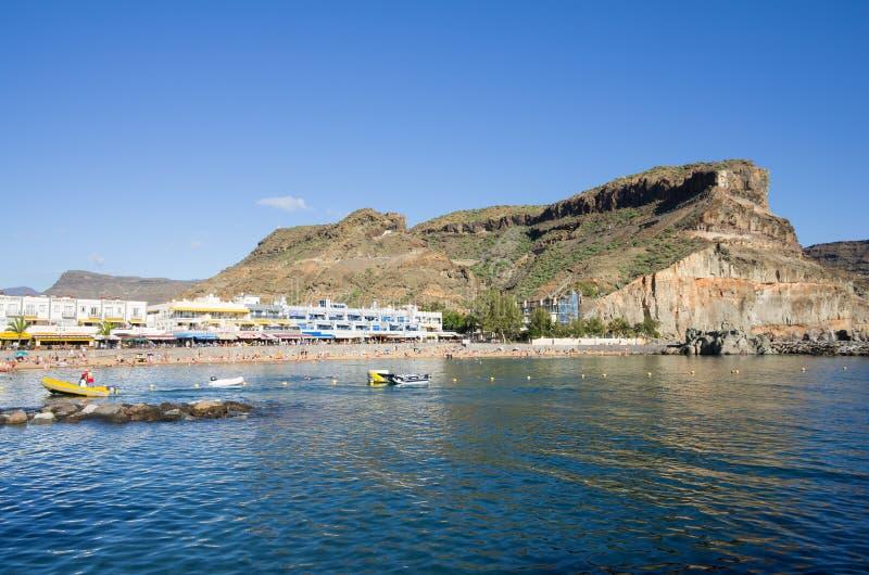 Puerto DE Mogan royalty-vrije stock afbeelding
