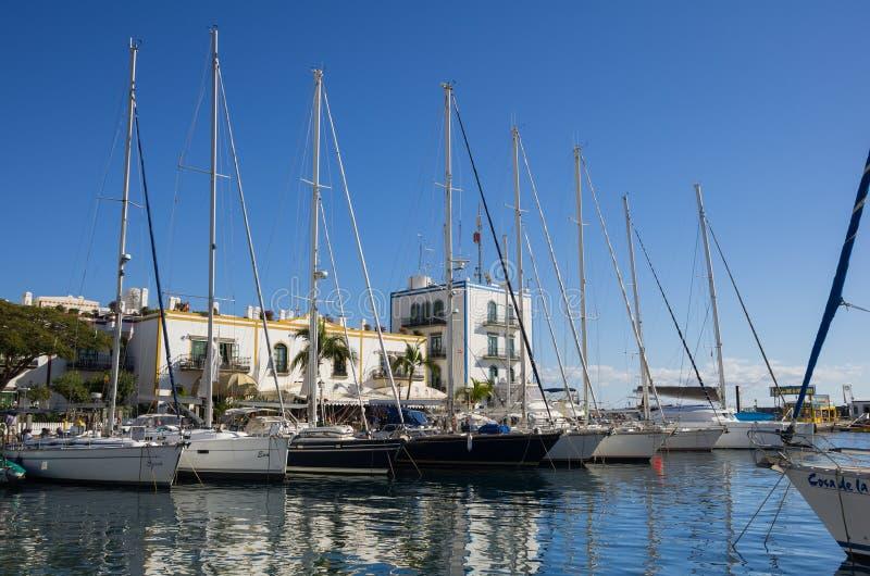 Puerto DE Mogan royalty-vrije stock foto
