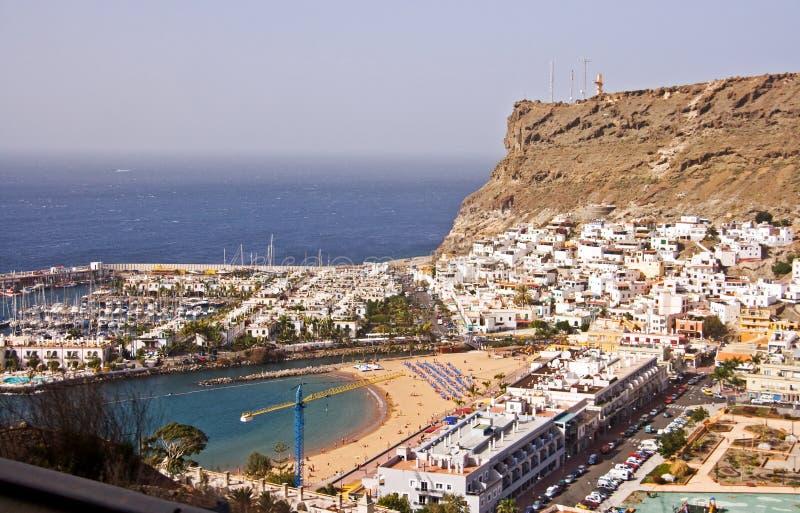 Puerto de Morgan resort royalty free stock image