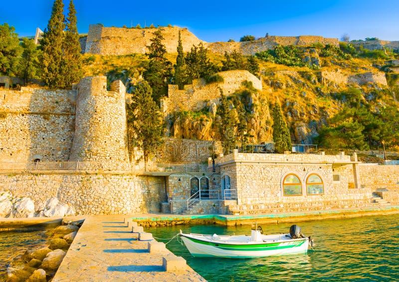 Puerto de Nafplion fotos de archivo
