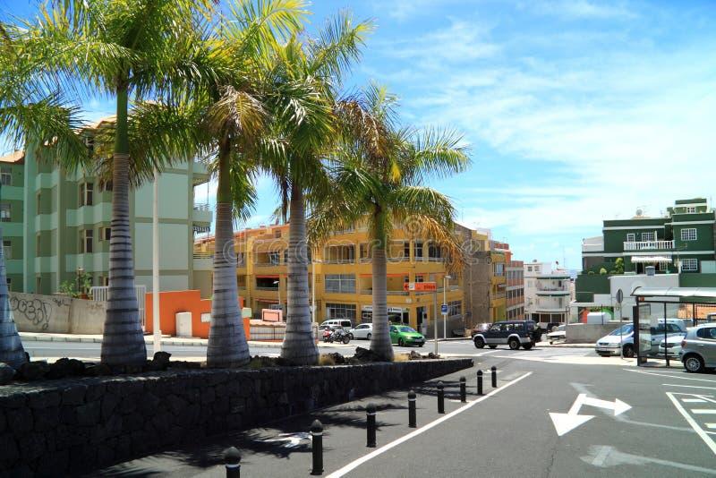 Puerto de Naos the Canary Island La Palma royalty free stock photography