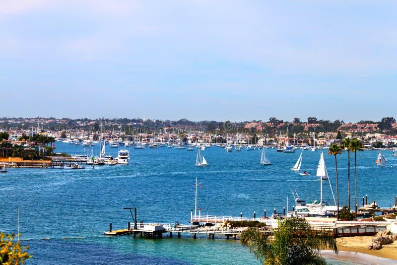 Puerto de Newport fotografía de archivo libre de regalías