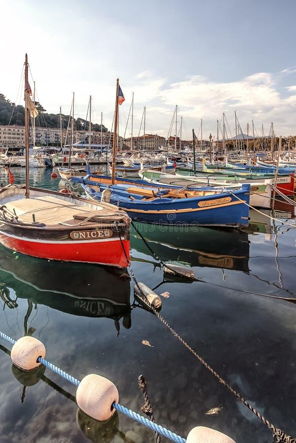 Puerto de Niza fotografía de archivo