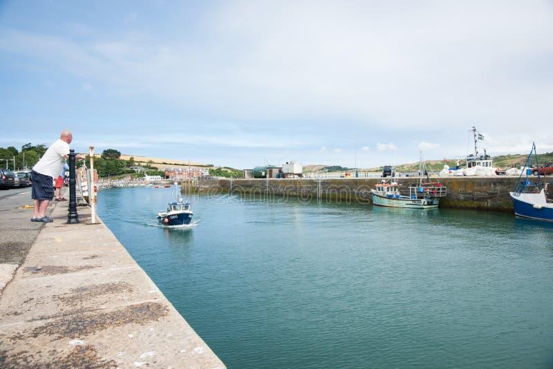 Puerto de Padstow. fotografía de archivo