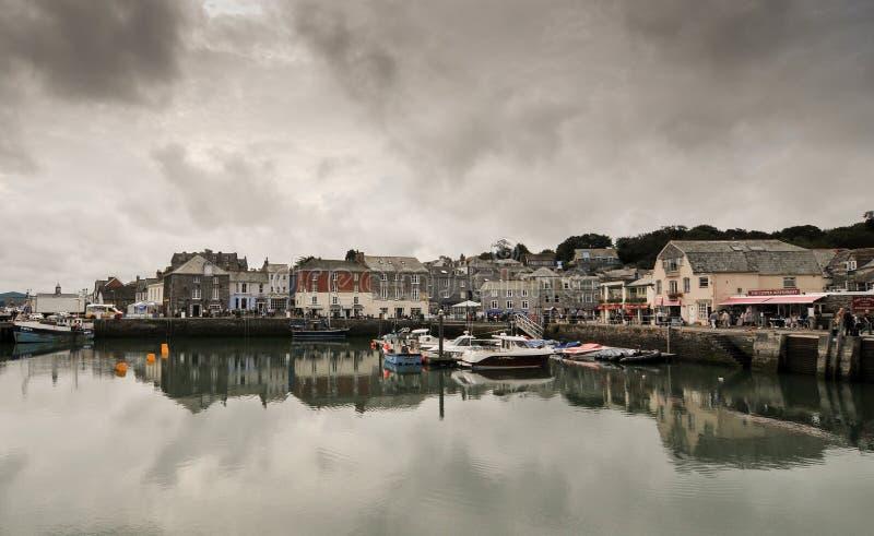 Puerto de Padstow, Cornualles del norte, Inglaterra fotografía de archivo libre de regalías