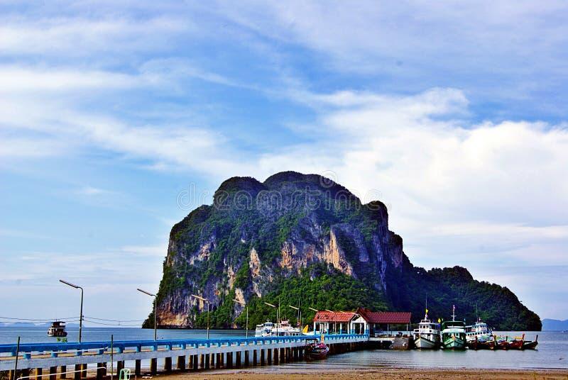Puerto de Pak Meng foto de archivo libre de regalías