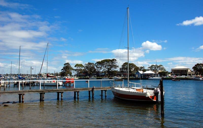 Puerto de Paynesville, estado Victoria, Australia. fotografía de archivo