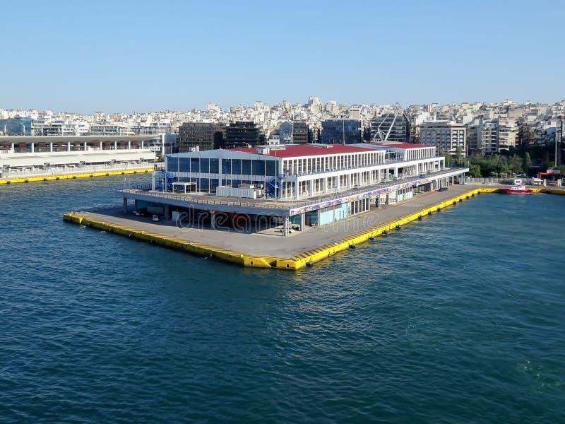 Puerto de Pireo/terminal, Atenas fotografía de archivo