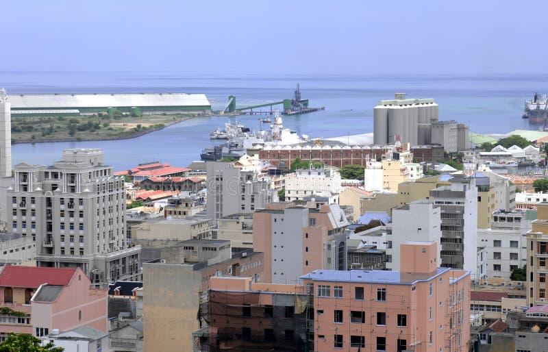 Puerto de Port Louis fotografía de archivo libre de regalías