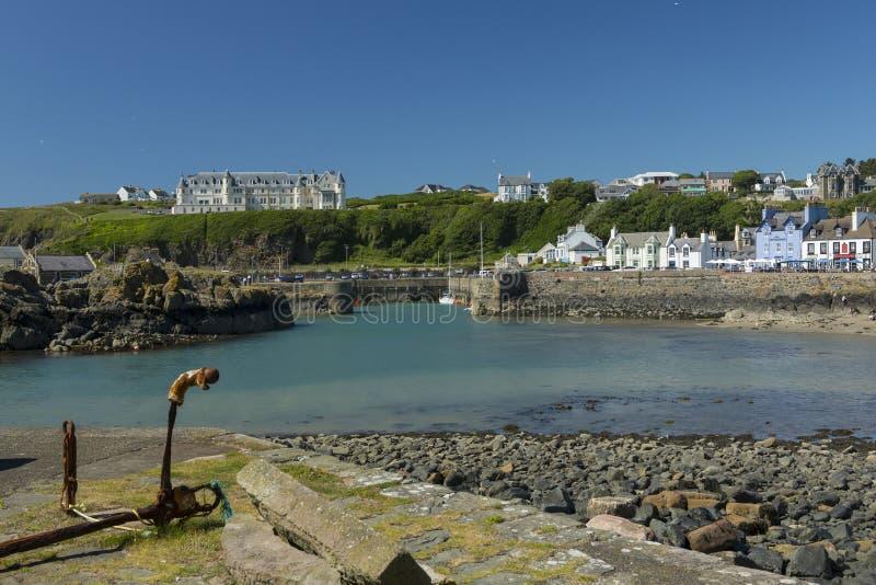 Puerto de Portpatrick, Dumfries y Galloway, Escocia fotos de archivo