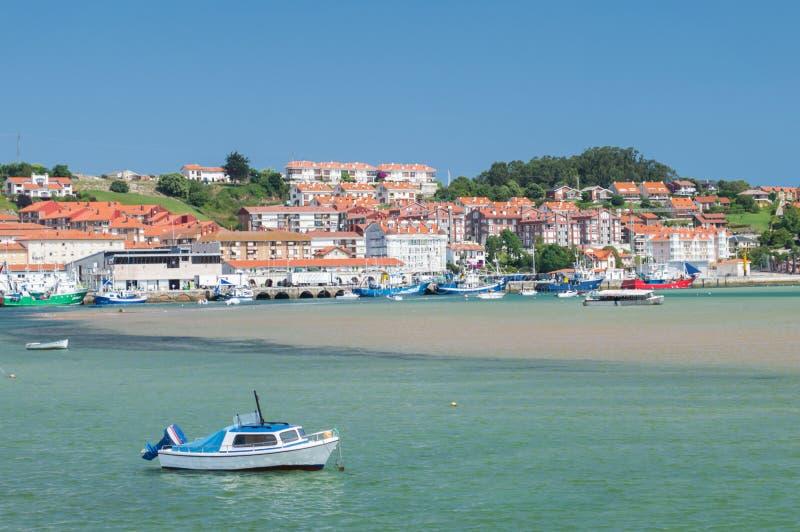 Puerto de Ribadesella foto de archivo libre de regalías