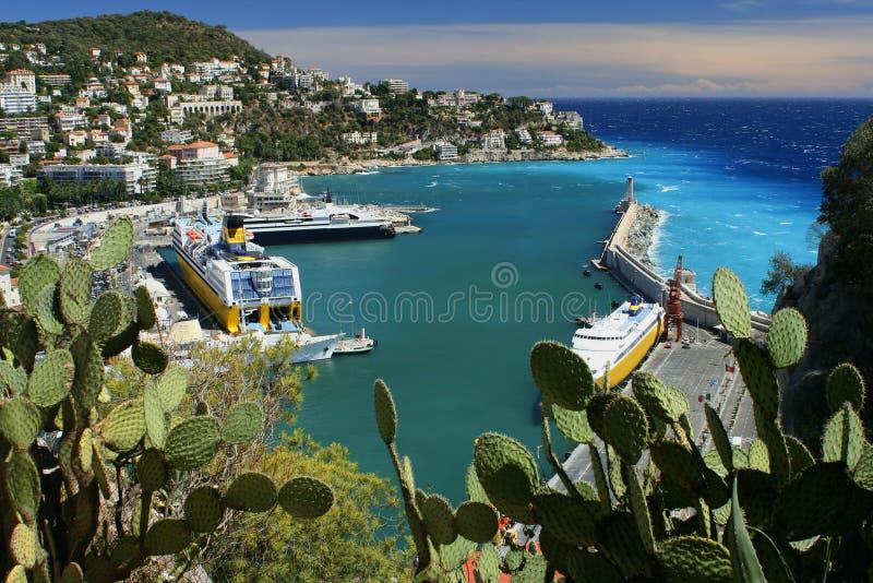 Puerto de Riviera fotos de archivo