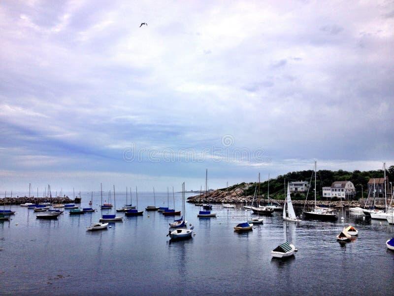 Puerto de Rockport fotos de archivo