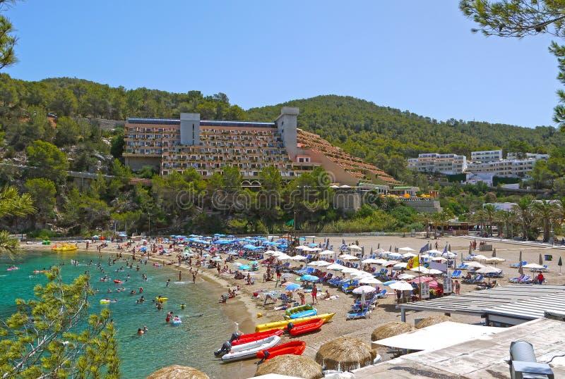 Puerto de San Miguel, Ibiza españa foto de archivo