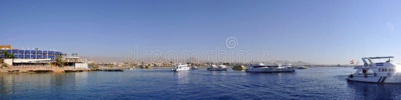 Puerto de Sharm El Sheikh foto de archivo libre de regalías
