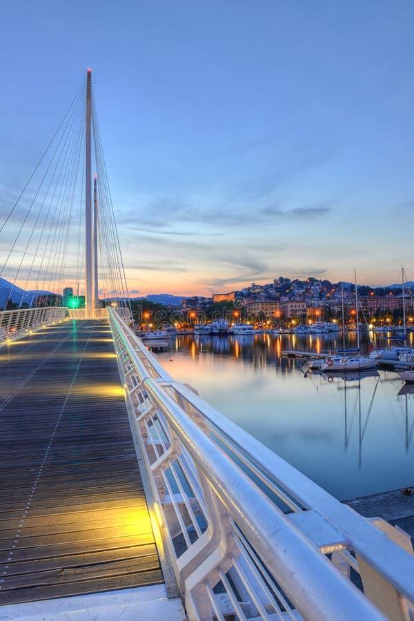 Puerto de Spezia del La, Cinque Terre, Italia foto de archivo libre de regalías