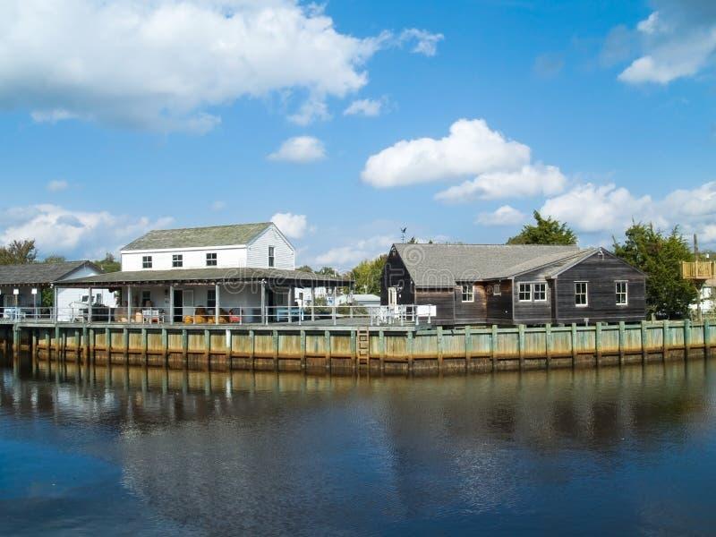 Puerto de Tuckerton fotos de archivo
