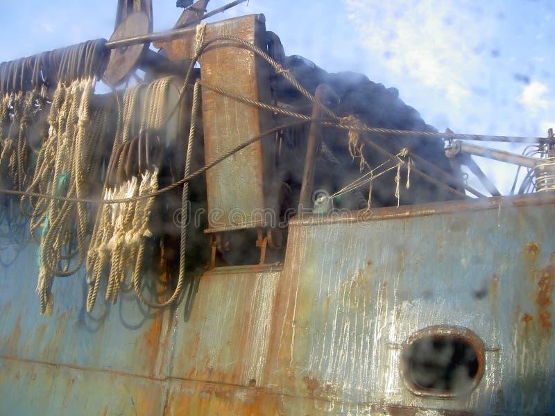 Puerto de Valdivia, Chile fotos de archivo libres de regalías