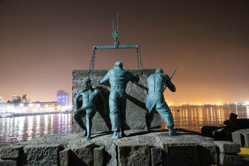 Puerto de Veracruz fotografía de archivo
