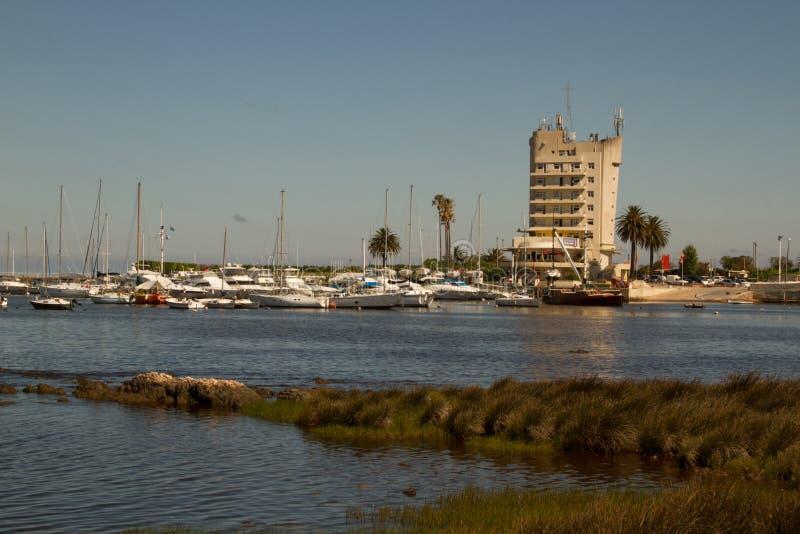 Puerto del Buceo,蒙得维的亚乌拉圭 库存照片
