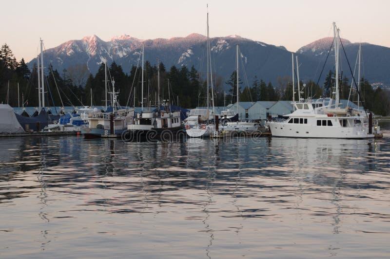 Puerto del carbón de Vancouver imagenes de archivo