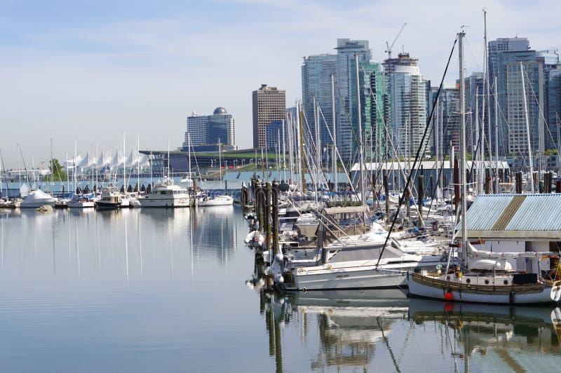 Puerto del carbón en Vancouver foto de archivo libre de regalías