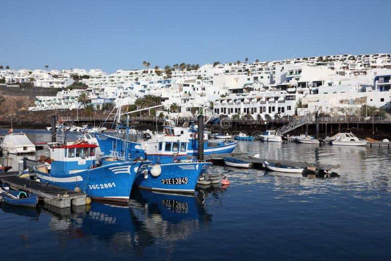 Puerto del Carmen, Lanzarote fotografia stock libera da diritti