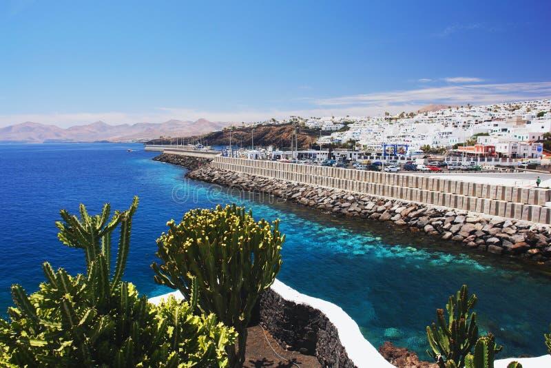 Puerto del Carmen, Lanzarote photographie stock libre de droits