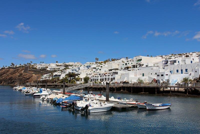 Puerto del Carmen, Lanzarote, Spain stock photos