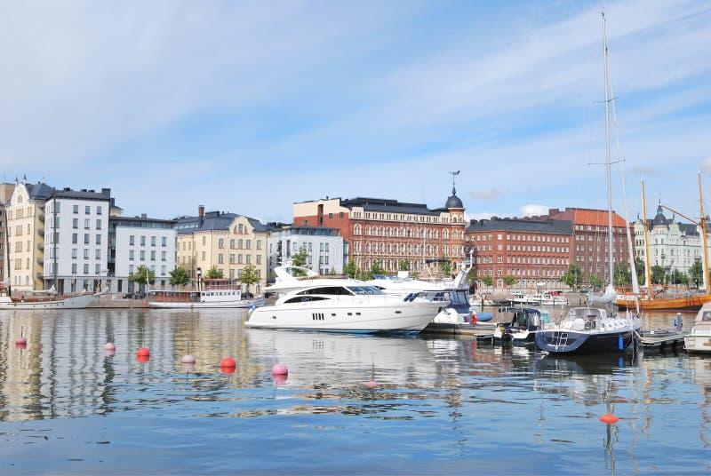 Puerto del norte de Helsinki imágenes de archivo libres de regalías