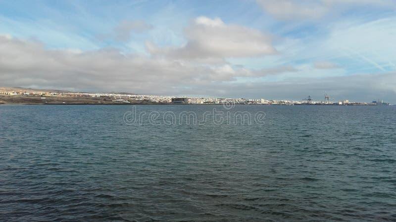 Puerto del Rosario à Fuerteventura, Canarias image libre de droits