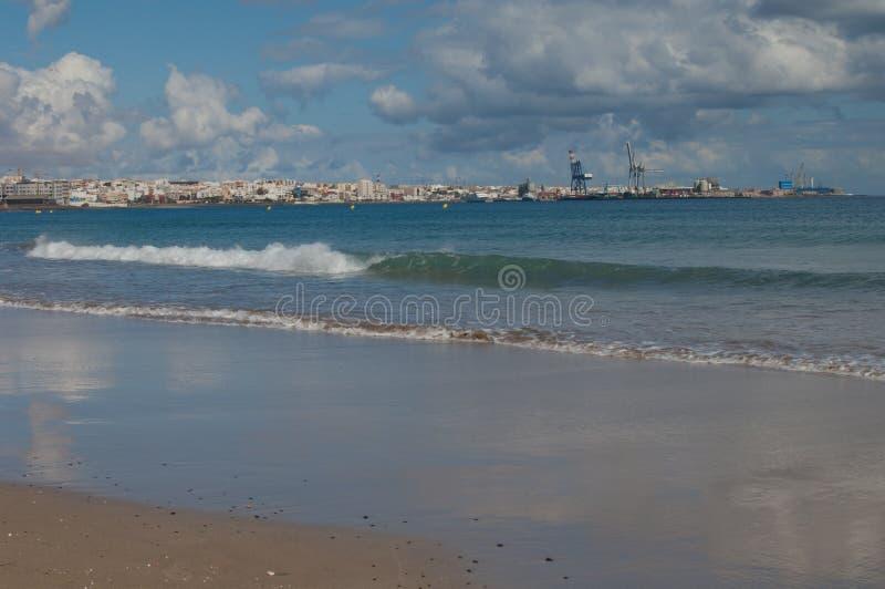 Puerto del Rosario royalty-vrije stock afbeelding