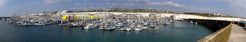 Puerto deportivo de Brighton foto de archivo libre de regalías