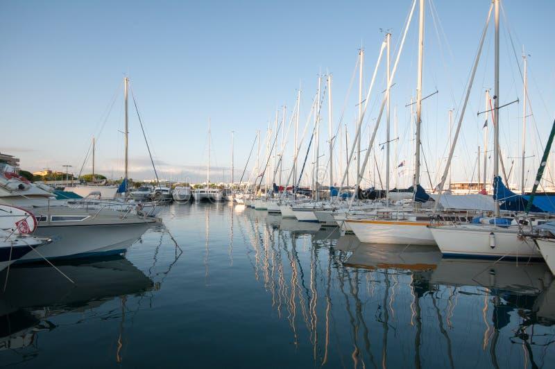 Puerto deportivo de Cote d'Azur imágenes de archivo libres de regalías