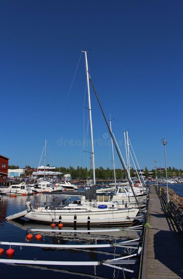 Puerto deportivo de Ettans fotografía de archivo libre de regalías
