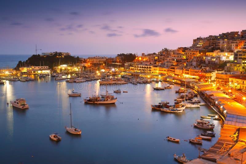Puerto deportivo de Mikrolimano en Atenas imagen de archivo