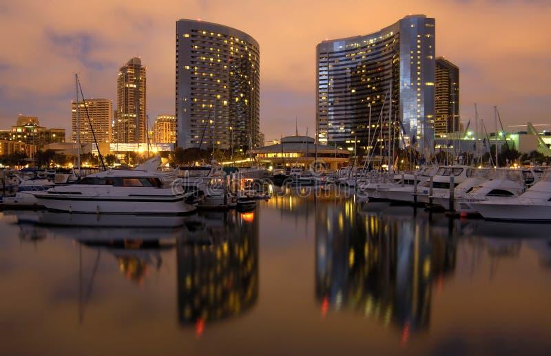 Puerto deportivo de San Diego imágenes de archivo libres de regalías