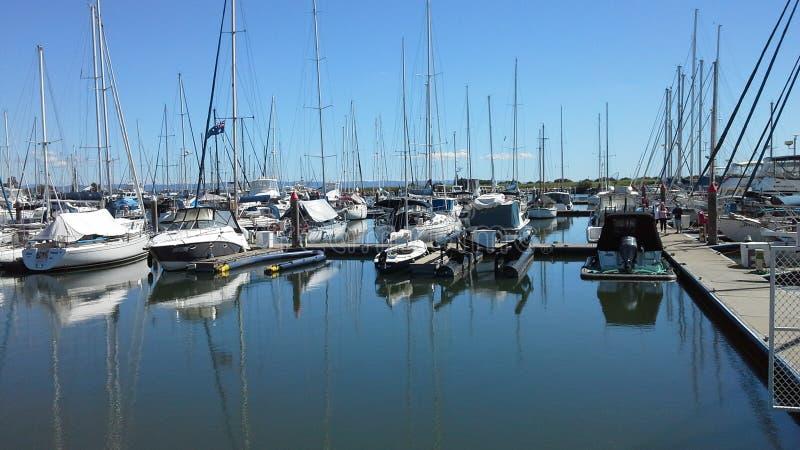 Puerto deportivo de Scarborough fotografía de archivo libre de regalías