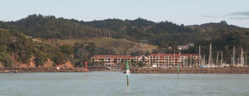 Puerto deportivo de Tutukaka imágenes de archivo libres de regalías