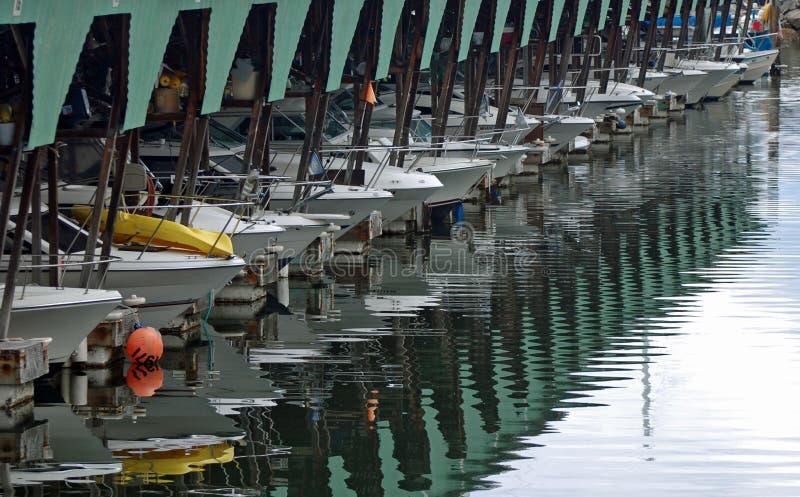 Puerto deportivo del barco