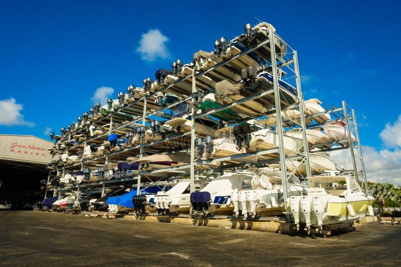 Puerto deportivo del puerto de la arboleda imágenes de archivo libres de regalías